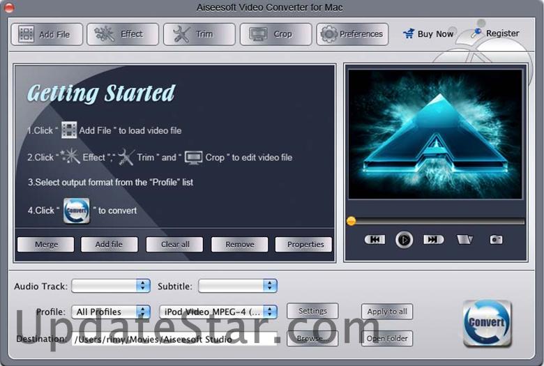 Aiseesoft Video Converter for Mac  8.0.80