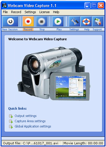 Webcam Video Capture 6.523